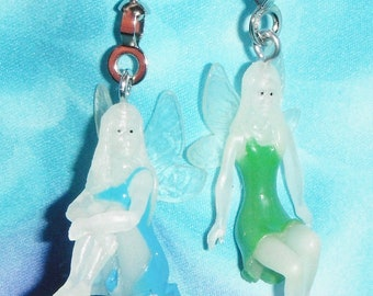 Set of Two ~ Glow-in-the-Dark Fairy Pixie Fantasy ~ Ceiling Fan/Light Pulls