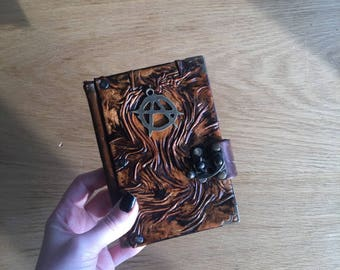Steampunk Journal, Leather Journal, Leather Notebook, Leather Sketchbook, Travel Journal, Gift Idea