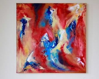 Crescendo- Original Abstract Art by Hannah-Eowyn