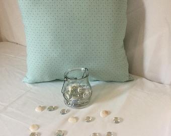 Pillow  Mint green