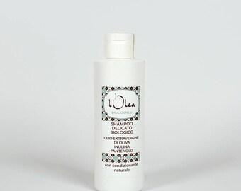 Delicate Organic Shampoo 200 ml Natural Handmade