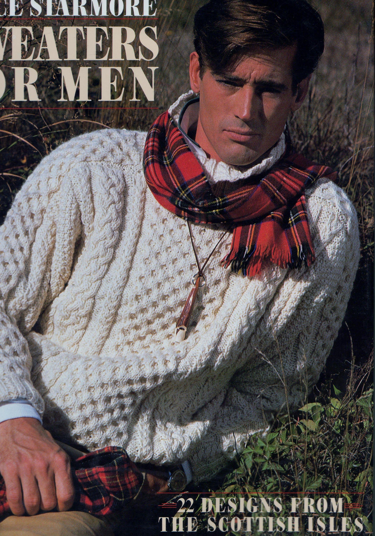 Alice Starmore Sweaters for Men Aran Sweater 22 Designs Knitting ...