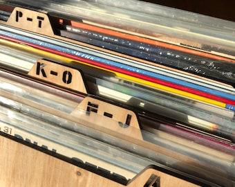 Record Vinyl Divider Organizer