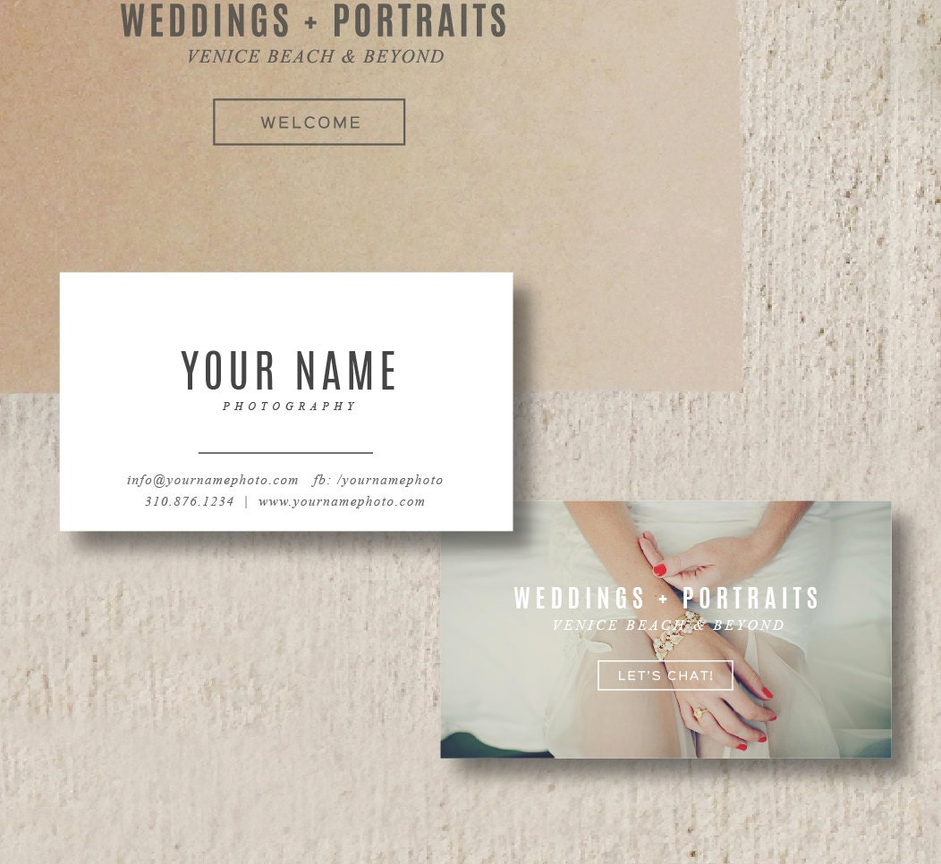 Business Cards Photographer Business Card Template