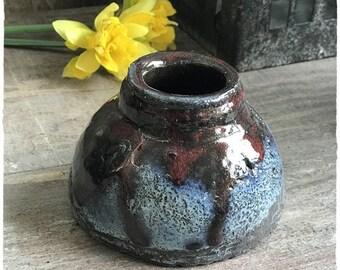 Height 7 cm ceramic stoneware ceramic planter or Vase stand