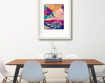 Wall Decorations For Living Room, Abstract Watercolor Print, Large Abstract Poster, Abstract Painting Print Gift, Modern Abstract Art Print