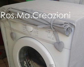 Hand-made fabric washer or dryer cover