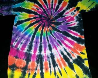 Black Back Rainbow Spiral