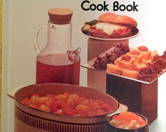 Vintage Better Homes and Gardens Microwave Cook Book, Cookbook, 1976