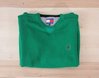 90's Tommy cotton sweater