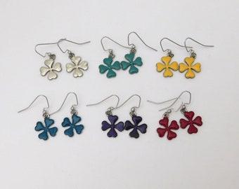 Four Leaf Clovers Earrings