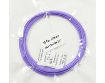 Purple filament for 5 meters x 3D pen