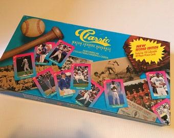 1989 Classic Major League Baseball Board Game - Second Edition
