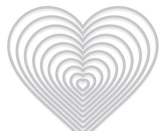 Hero Arts Heart Infinity Dies  DI334