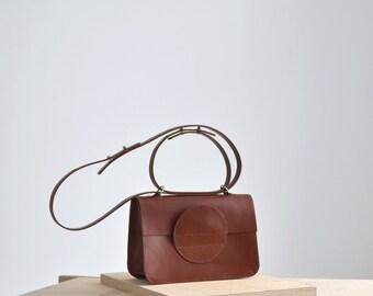 CHLOE leather box bag | leather crossbody bag
