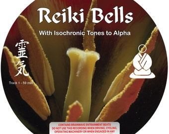 Reiki Bells - Isochronic Tone mp3 - De-Stress - Relaxation - Meditation - Instant Download