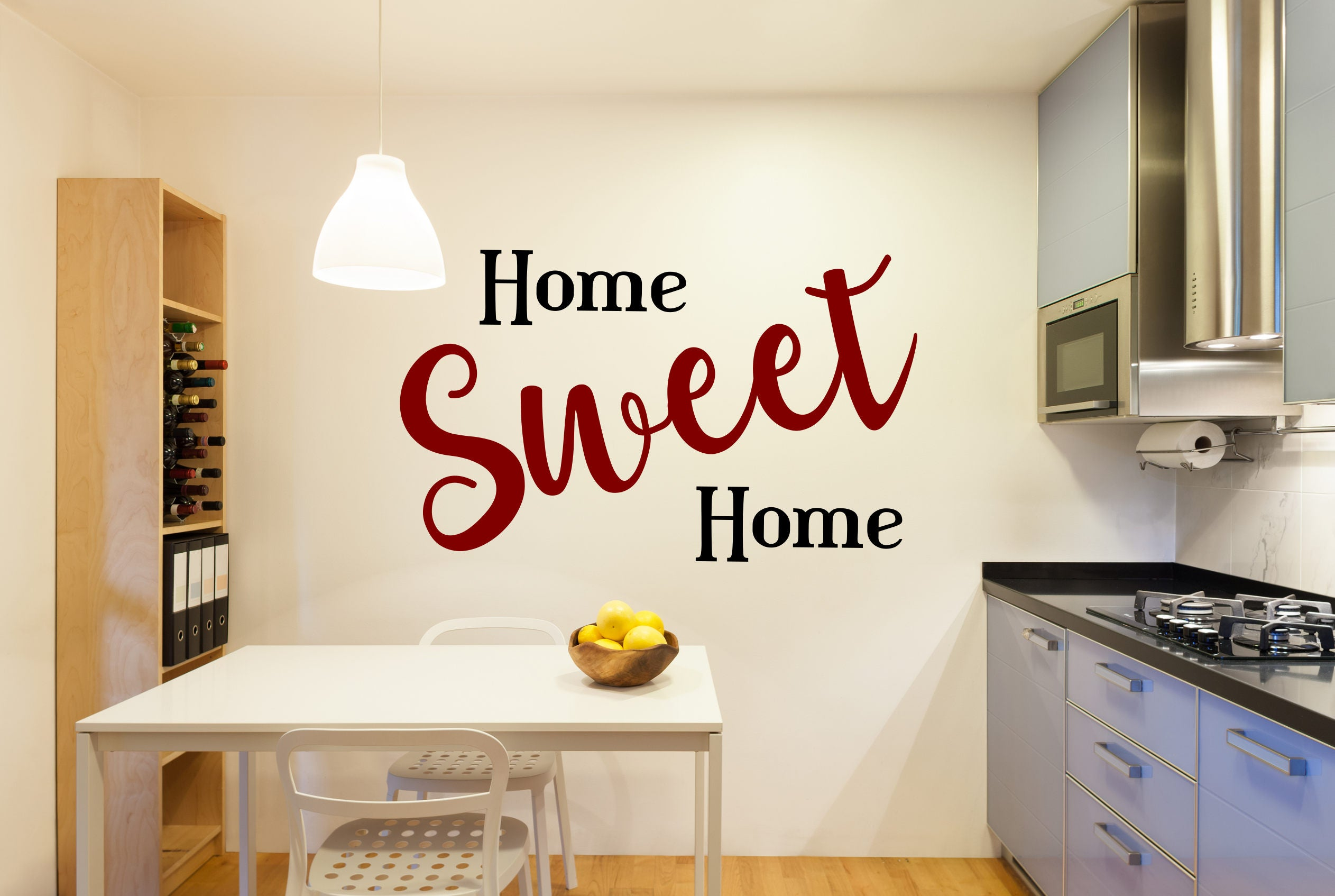 Home sweet home decal, home sweet apartment, home sweet home sign ...