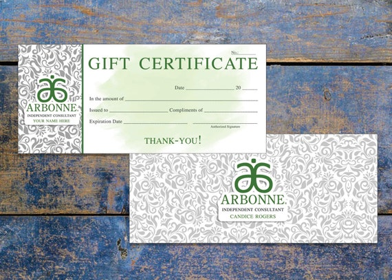2019 Cantineoqueteveo Gift Certificate Images Gift