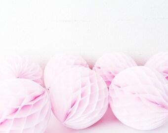 Tissue Paper Honeycomb balls ( sold individually) Honeycomb Balls - Paper balls - Paper Lanterns - Party Honeycombs -Wedding