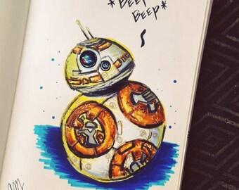 BB-8 Droid, Star Wars, Star Wars The Force Awakens, Star Wars Movie
