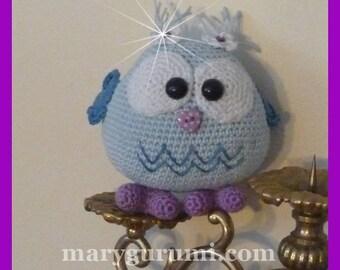 OWL, Amigurumi crochet plush