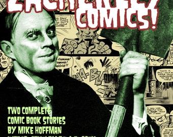Dig Those Crazy ZACHERLEY COMICS Download Monster tv Retro Horror Host Comic Mike Von Hoffman
