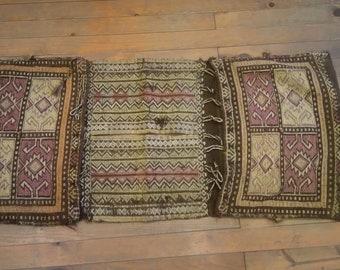 Etsy's 13th Birthday Sales Anatolian kilim saddlebag 123x51 cm
