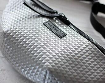 Fanny Pack Hip Bag Waist Bag Bum Bag Hip Travel Bag Belt Bag Waist Purse Real Leather Black Casual Zipper Purse Echtleder Gift for Traveler