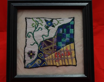 """Original Embroidery """"Divided"""""""