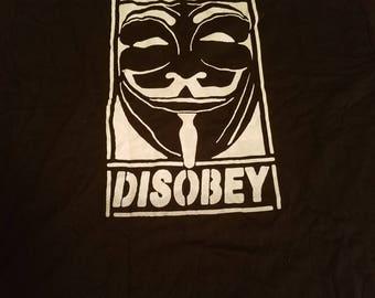 Guy Fawks Disobey Tee