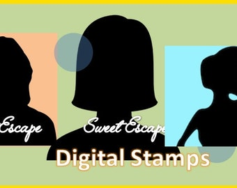 3 Digital Stamps of your choice *No coupons allowed on this listing*