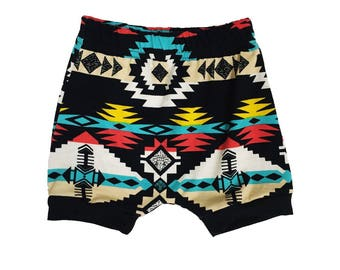 Navajo Harems - Aztec Tribal Baby Leggings - Baby Boy Leggings - Baby Pants - Baby Joggers - Toddler Pants - Toddler Clothes