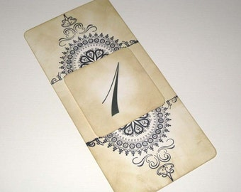 Antique Linen Vintage Style French Elegant Design Luxury Table Numbers/Names Wedding Original Design