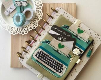 Planner Accessories , Planner Zipper Pouch , Vintage Typewriter School Bag , The Pocket Planner Pouch , Tassel Pouch , Planner Band
