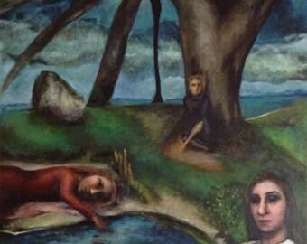Paintings: Park Series