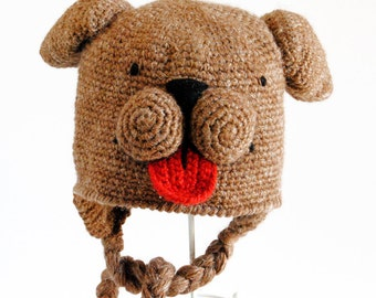 Crochet pattern - Super magic dog hat- 5/10 years-teenager/woman-man