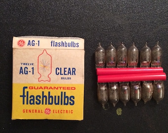 General Electric Flashbulbs AG-1 clear
