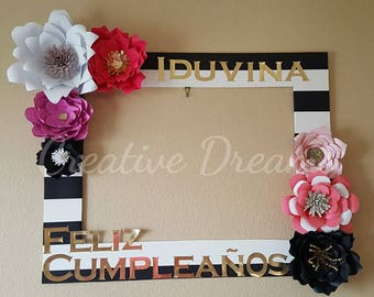 Kate Spade Themed Photo Frame