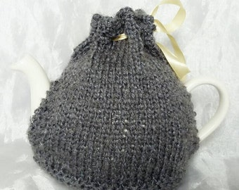 Silvery Grey Tea Pot Cosy