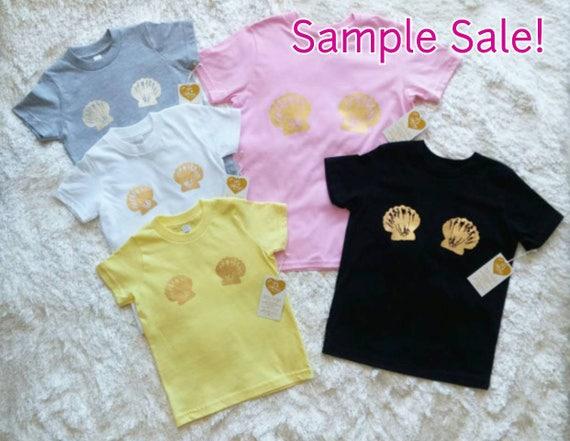 Kids Size 10 Sample Sale! / Kids Mermaid TShirt / More Colors!