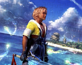 Final Fantasy X 10 Tidus A4 Puzzle - 120 Pieces