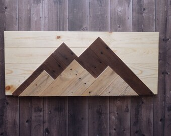Mountain Wall Hanging