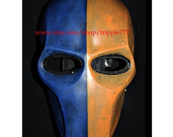 Army of two mask, Paintball airsoft mask, Halloween mask, Steampunk mask, Halloween costume & Cosplay mask, S2 Deathstroke mask MA108 et