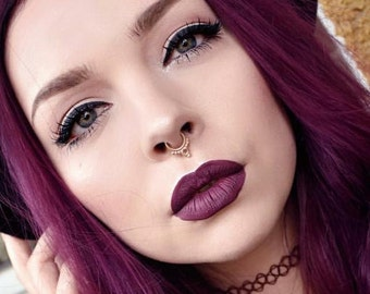Septum Gold Gold Septum Jewelry Nose Jewelry Gold Gold