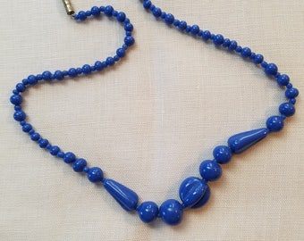 Ceramic Bead Necklace  #33