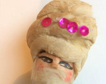 Unusual Felt Man Doll