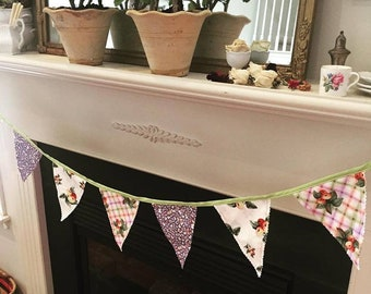 Bunting-British style-Cottage Picnic-party decoration-banners
