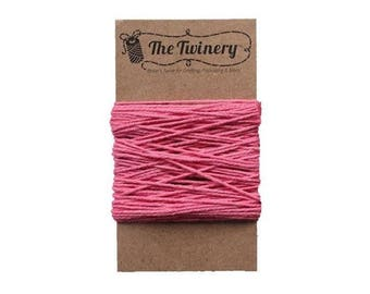 Pink Bakers Twine - Solid Strawberry - 15 Yard Bundle