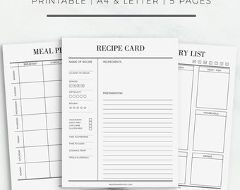 daily food planner