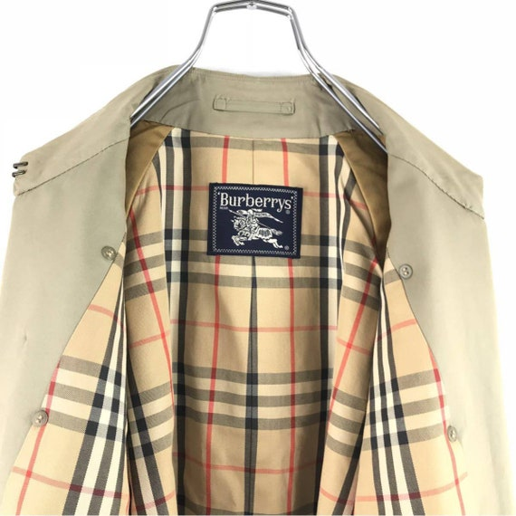Trench Burberrys' Check English Burberrys Coat Nova Trench Coat Trench Classic Coat Coat Tan qSxIwPrTS